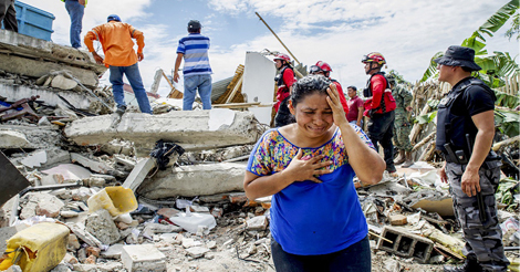 WATCH: The Frightening Earthquakes That Crushed Japan and Ecuador