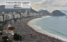 Famous Rio De Janeiro beach