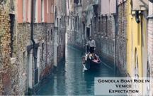 Gondola Boat Ride in Venice