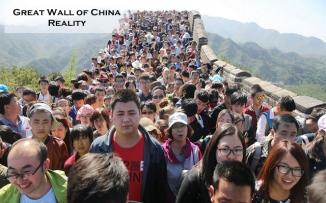 Great Wall of China Reality