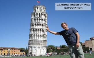 Leaning Tower of Pisa Expectation