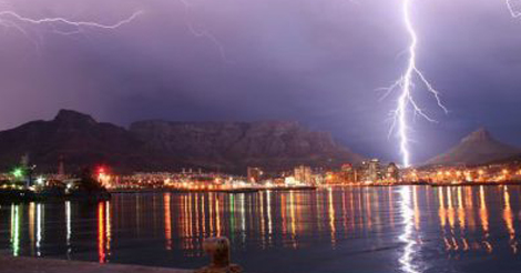 WATCH: Time-lapse video of Cape Town thunderstorm